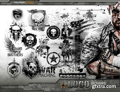 Ron's War Essentials Photoshop Brushes, Styles and Tools