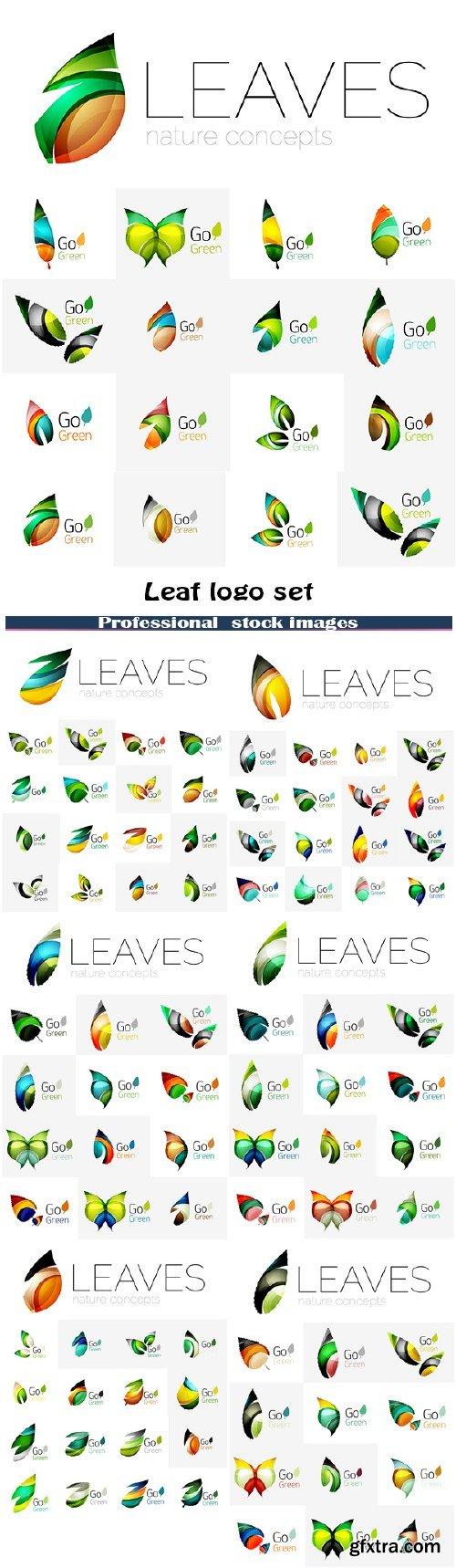 Leaf Logo Set 7xEPS