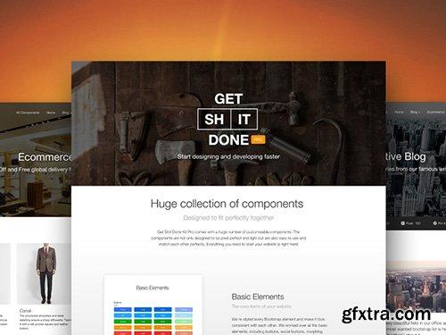 Creative-Tim - Get Shit Done Pro v1.4.3 - Premium BootStrap Ui Kit