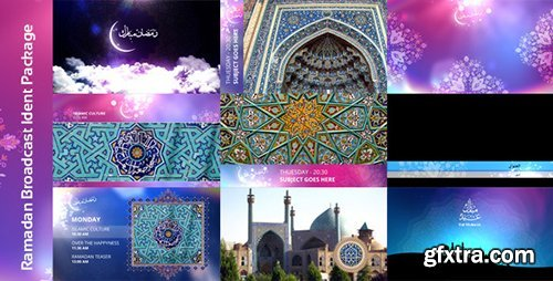Videohive Ramadan Broadcast Ident Package 8132579