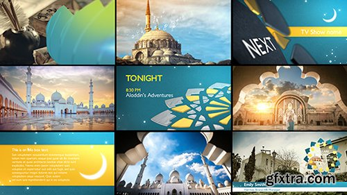 Videohive Arabia TV - Ramadan Ident Package 16092059