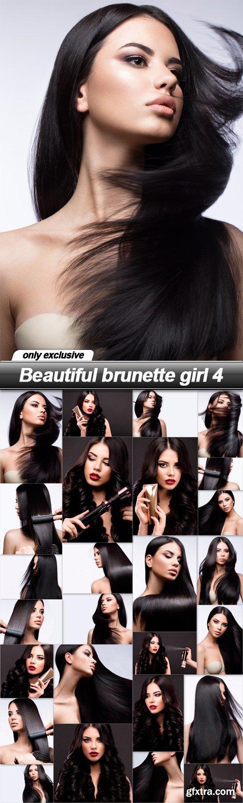 Beautiful brunette girl 4 - 26 UHQ JPEG