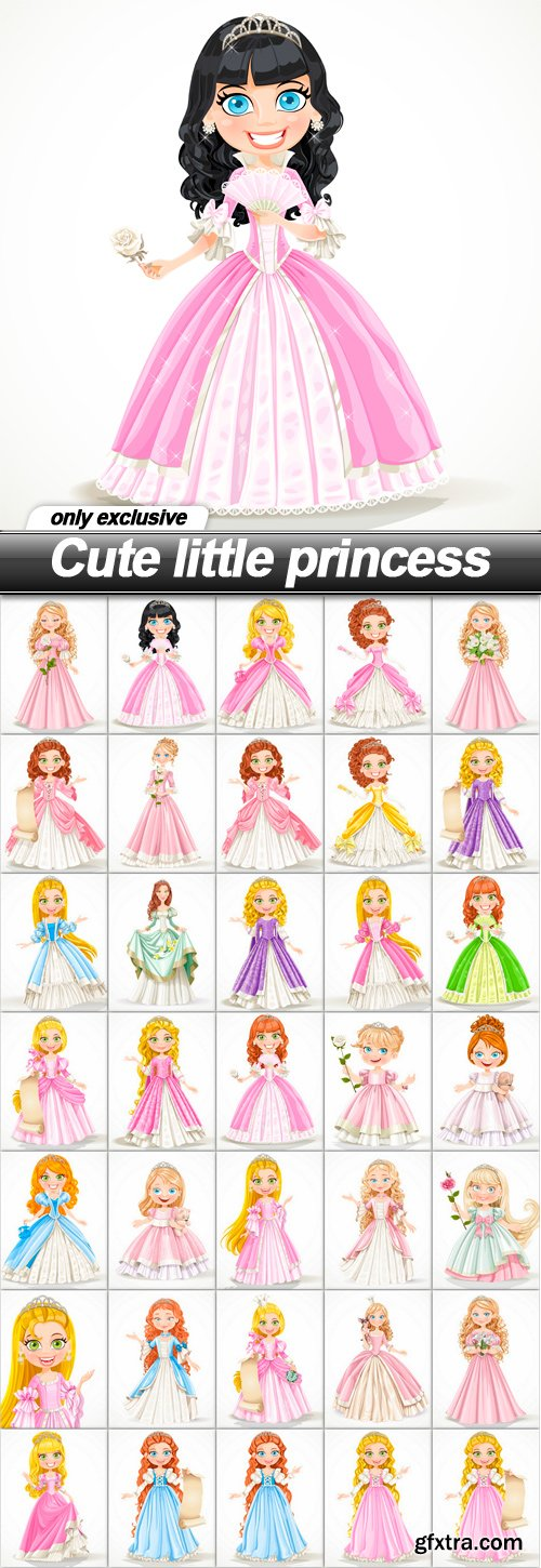 Cute little princess - 35 EPS
