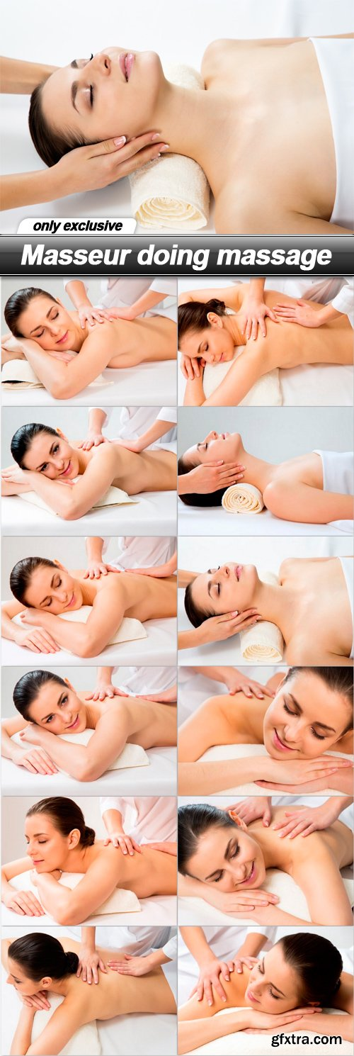 Masseur doing massage - 12 UHQ JPEG