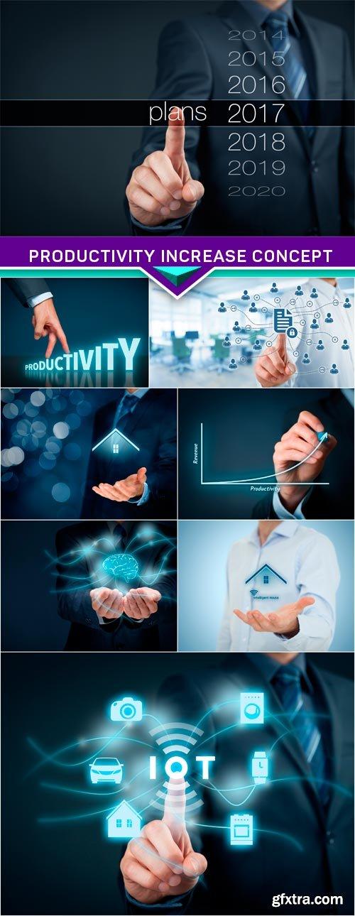 Productivity increase concept 8x JPEG