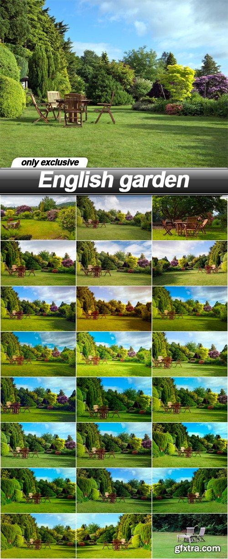 English garden - 24 UHQ JPEG