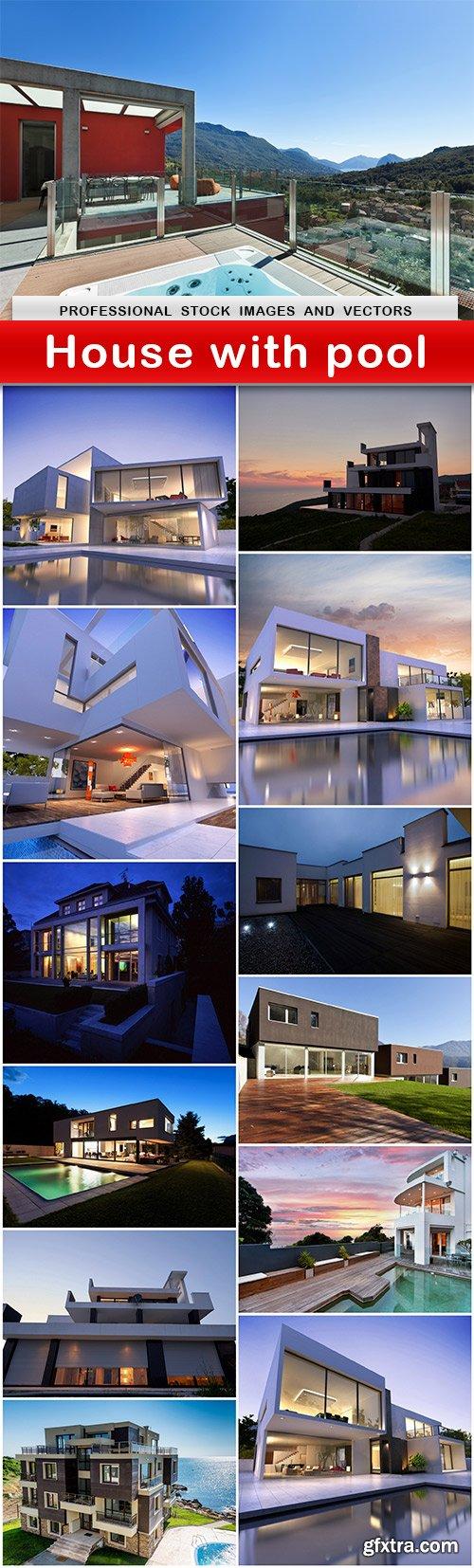 House with pool - 13 UHQ JPEG