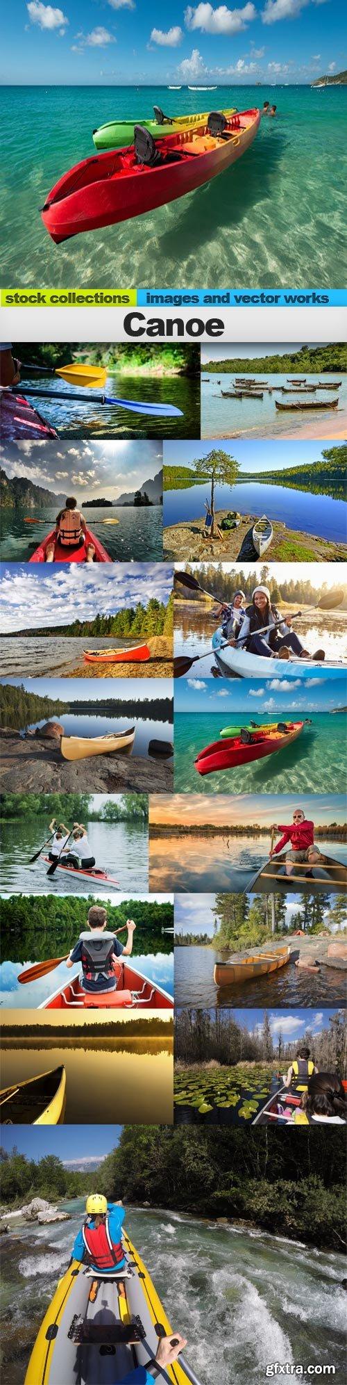 Canoe, 15 x UHQ JPEG
