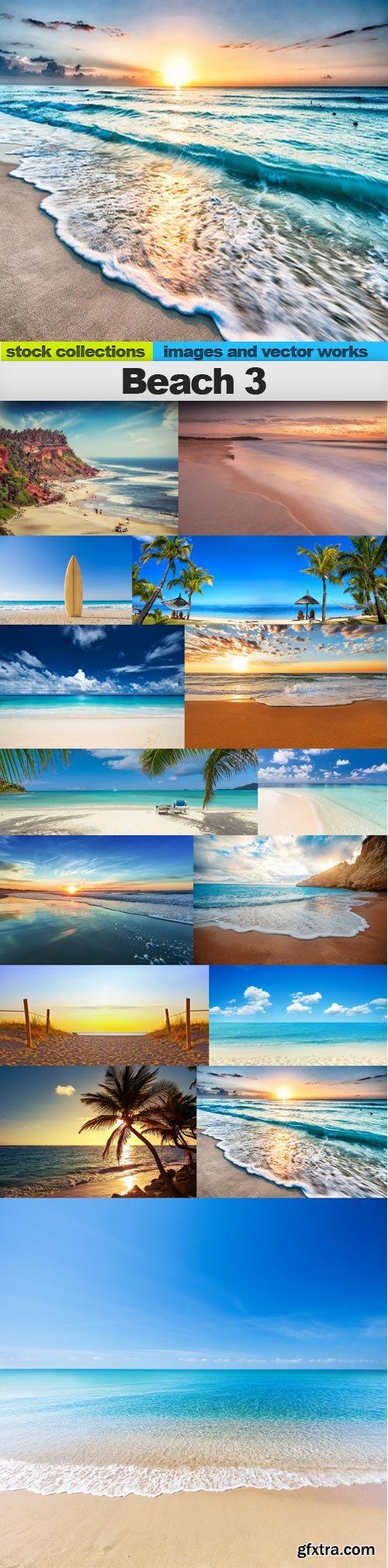Beach 3, 15 x UHQ JPEG