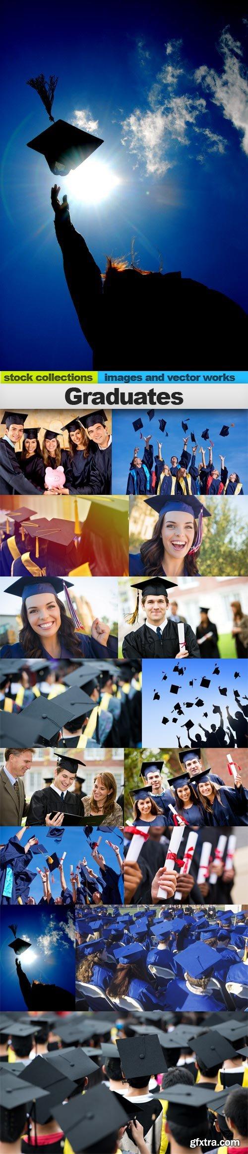 Graduates, 15 x UHQ JPEG