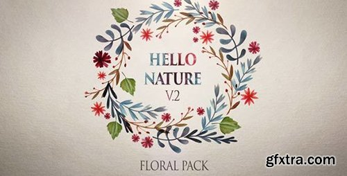 Videohive Hello Nature — Floral Pack v2 11099843