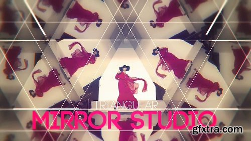 Videohive Triangular Mirror Studio 14562246