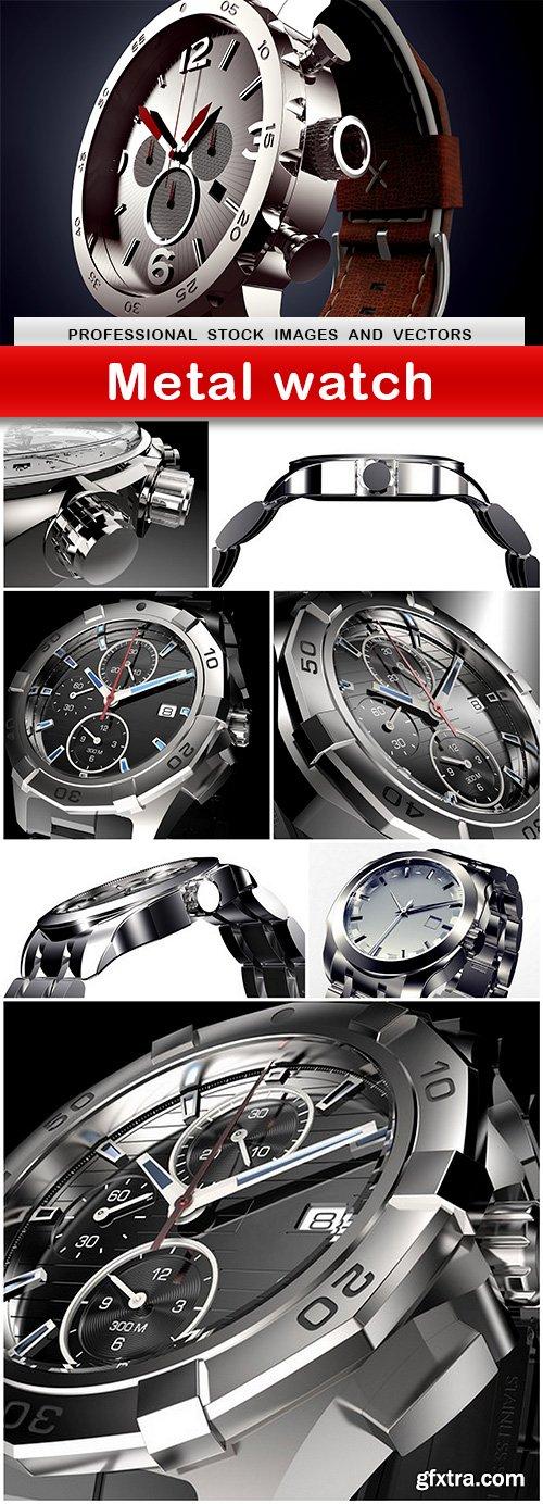 Metal watch - 8 UHQ JPEG
