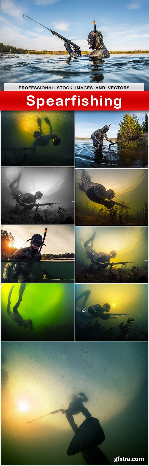Spearfishing - 10 UHQ JPEG