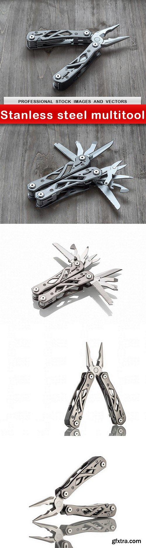 Stanless steel multitool - 5 UHQ JPEG
