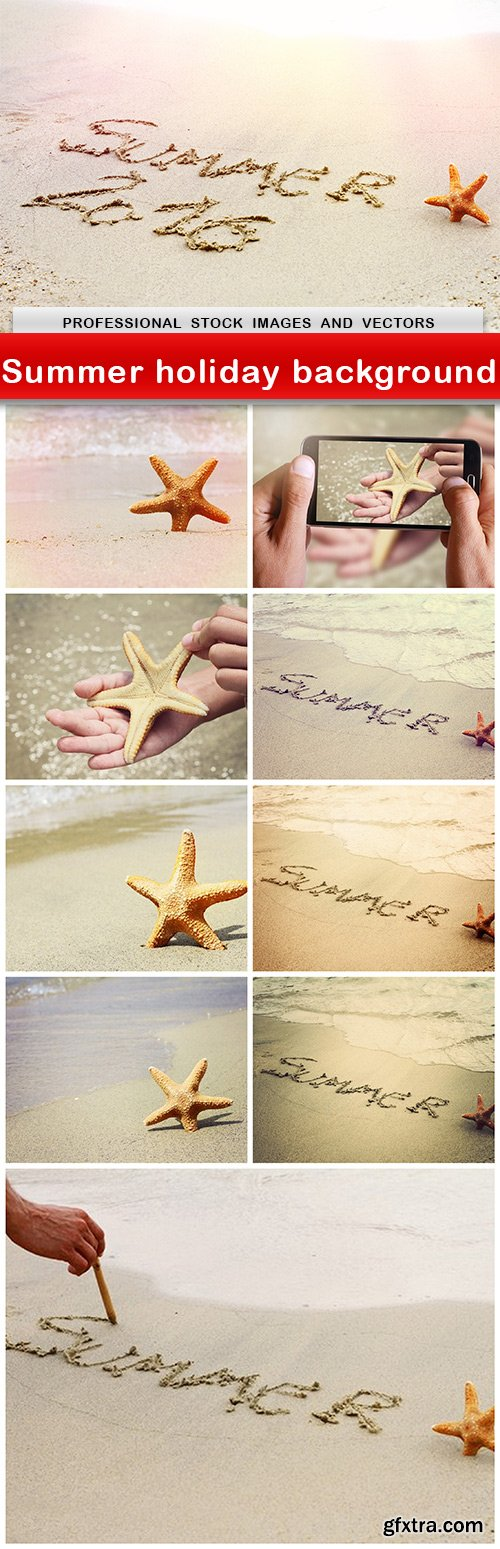 Summer holiday background - 10 UHQ JPEG