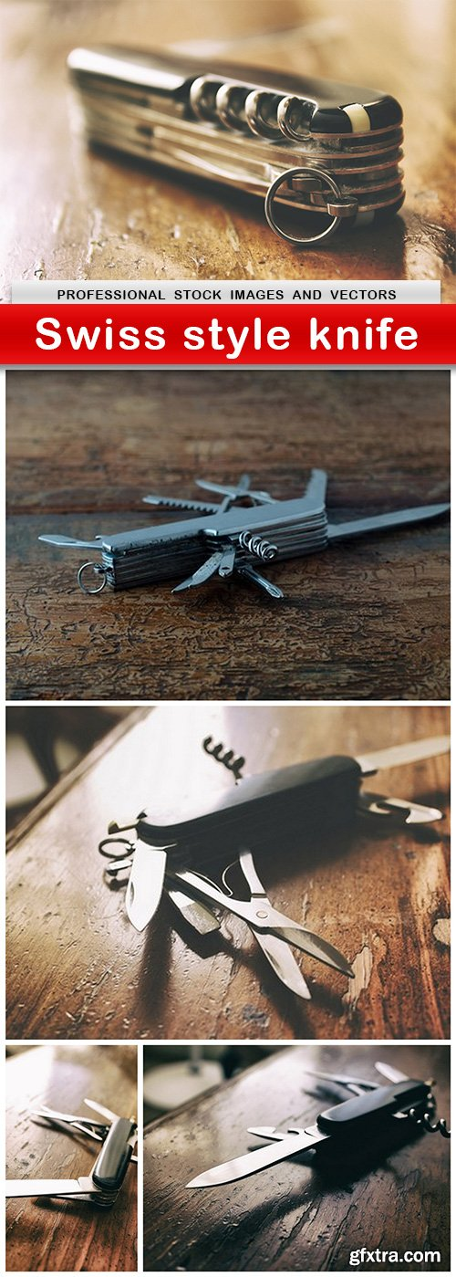 Swiss style knife - 5 UHQ JPEG
