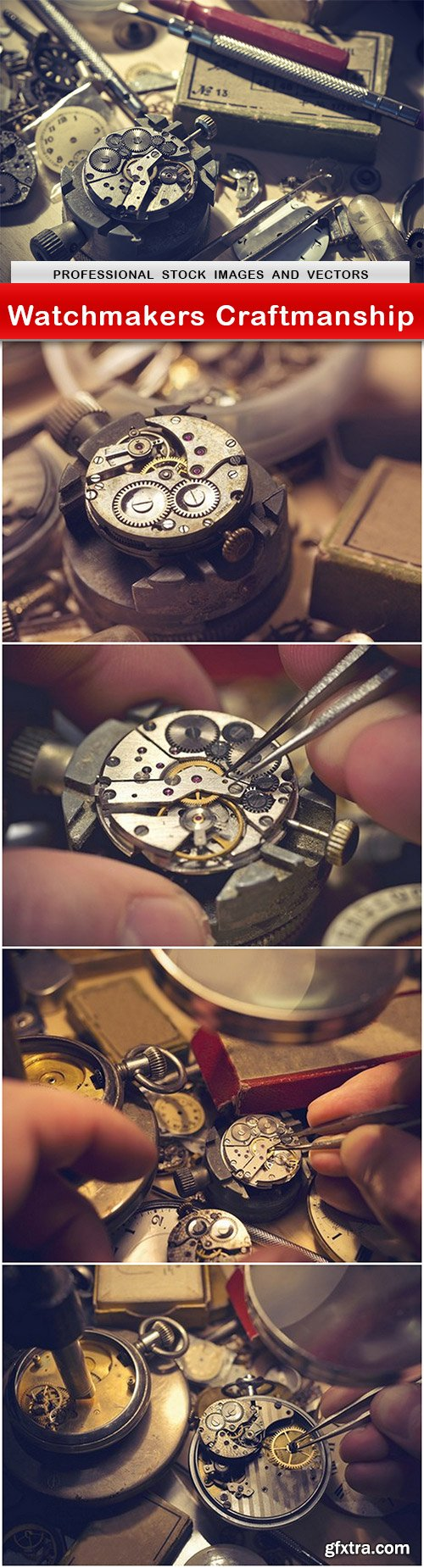 Watchmakers Craftmanship - 5 UHQ JPEG