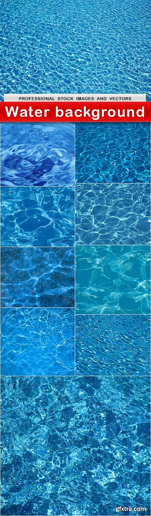 Water background - 10 UHQ JPEG
