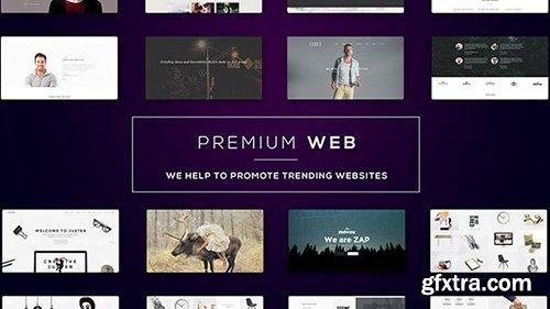 Videohive Premium Web l Website Presentation 15080425