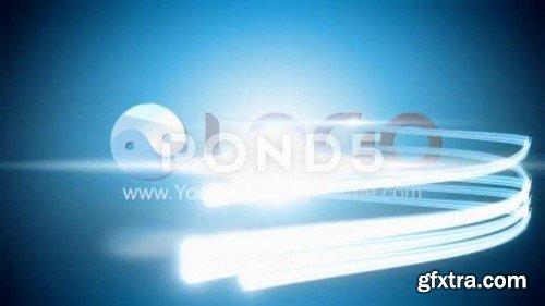 Light Streaks Logo Reveal - After Effects Template