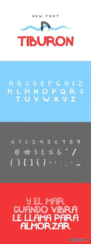 CM - Tiburon Display Font 701686