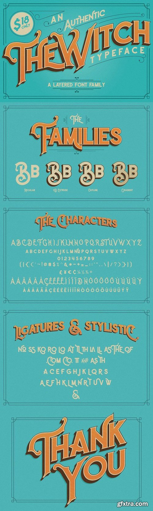 CM - The Witch Typeface 701769