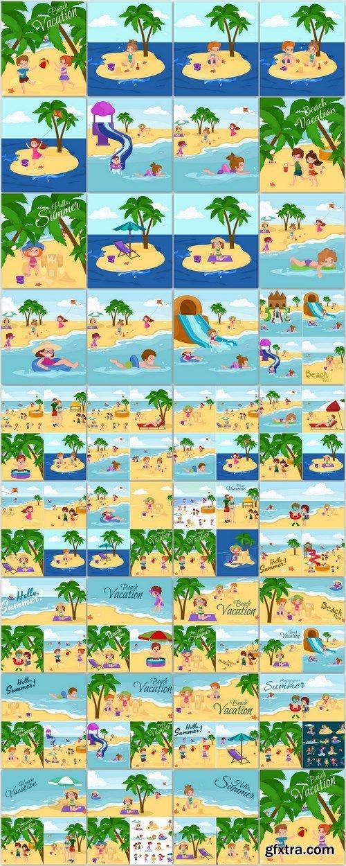 Summer children - 82 EPS