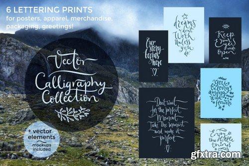 CreativeMarket Vector Calligraphy Collection 698746