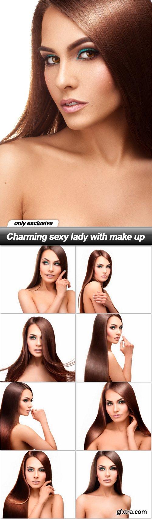 Charming sexy lady with make up - 9 UHQ JPEG