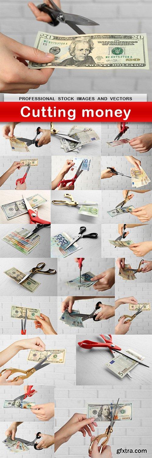 Cutting money - 24 UHQ JPEG