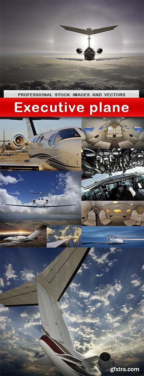 Executive plane - 10 UHQ JPEG
