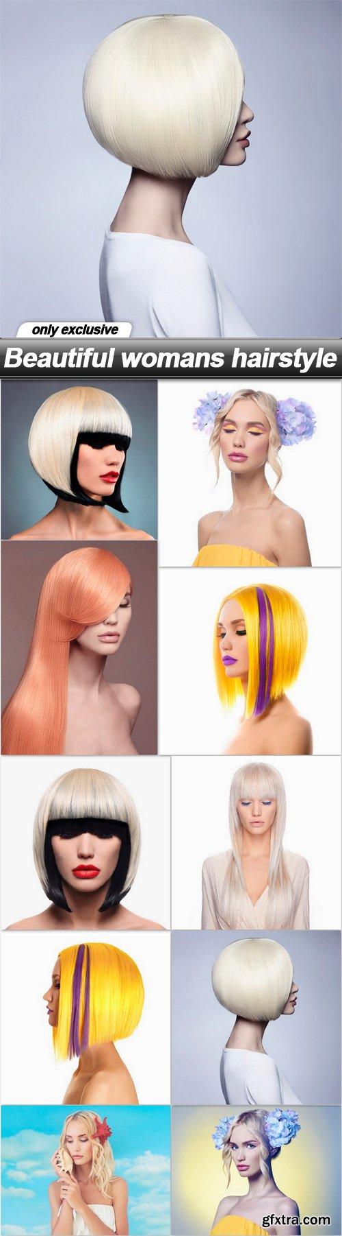 Beautiful womans hairstyle - 10 UHQ JPEG