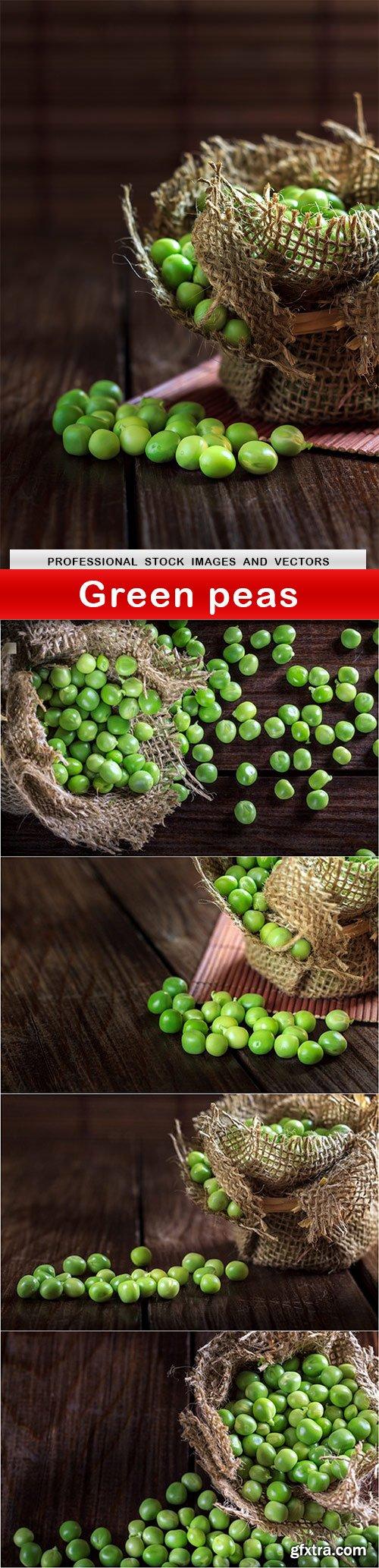 Green peas - 5 UHQ JPEG