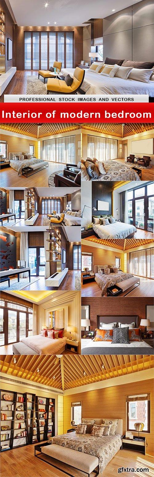Interior of modern bedroom - 10 UHQ JPEG