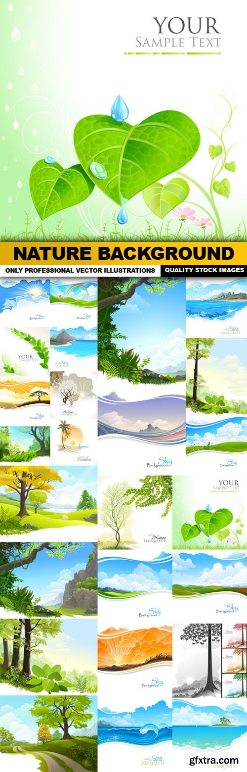 Nature Background - 25 Vector