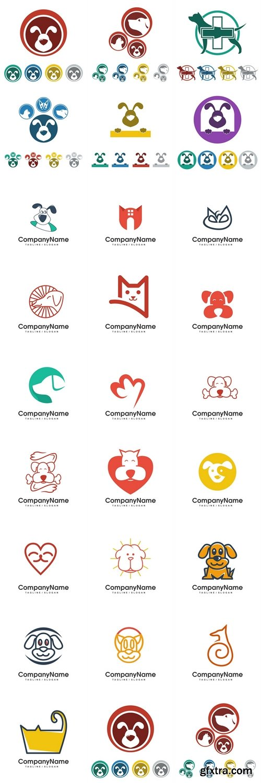 Pet shop logo icon Vector 3