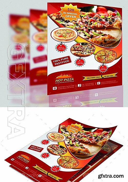 Pizza Flyer Design 6288