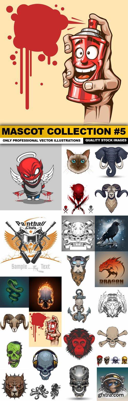 Mascot Collection #5 - 25 Vector