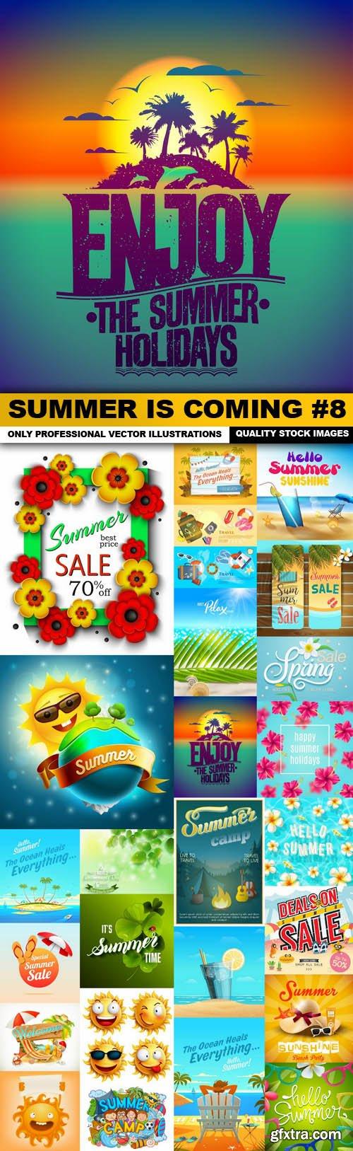 Summer Is Coming #8 - 25 Vector