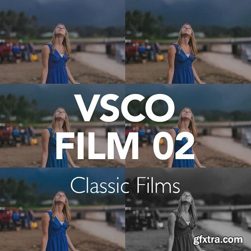 VSCO Film 02 for Lightroom and Photoshop (Win/Mac)