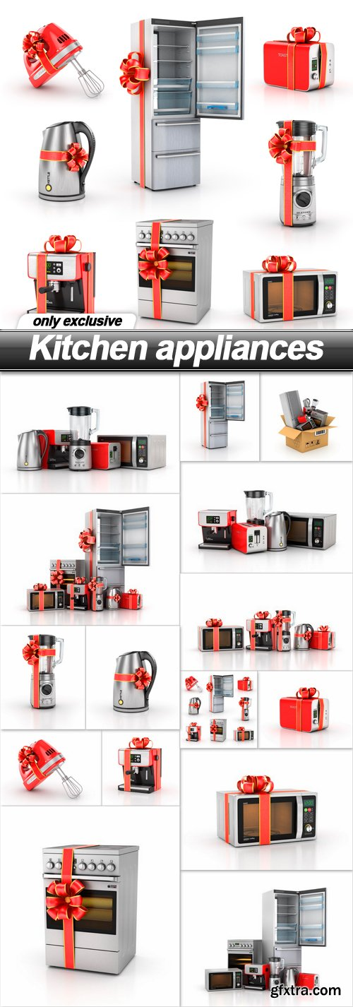 Kitchen appliances - 15 UHQ JPEG