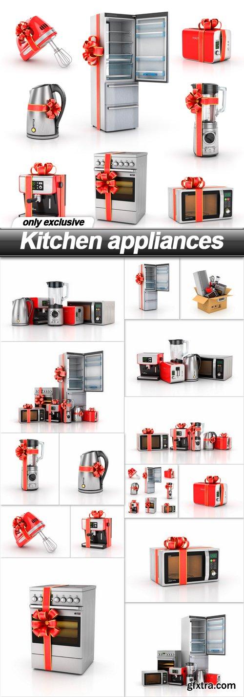 Kitchen appliances - 15 UHQ JPEG