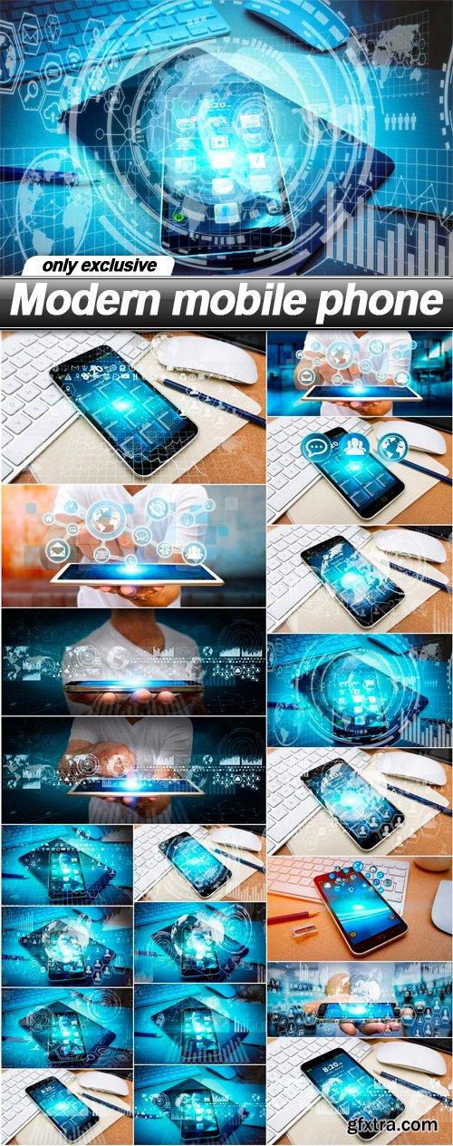 Modern mobile phone - 20 UHQ JPEG