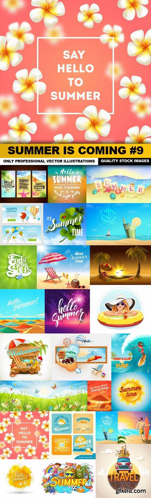 Summer Is Coming #9 - 25 Vector