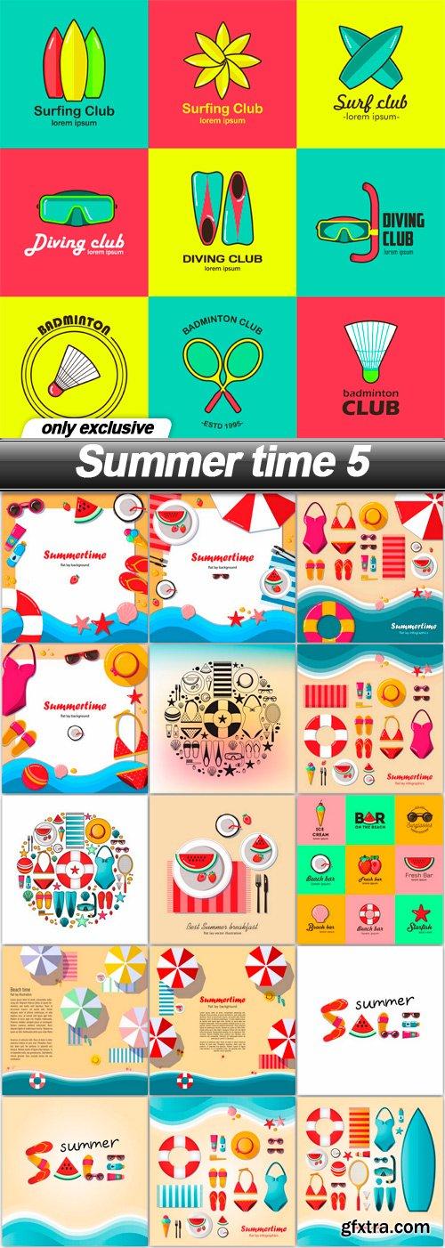 Summer time 5 - 16 EPS