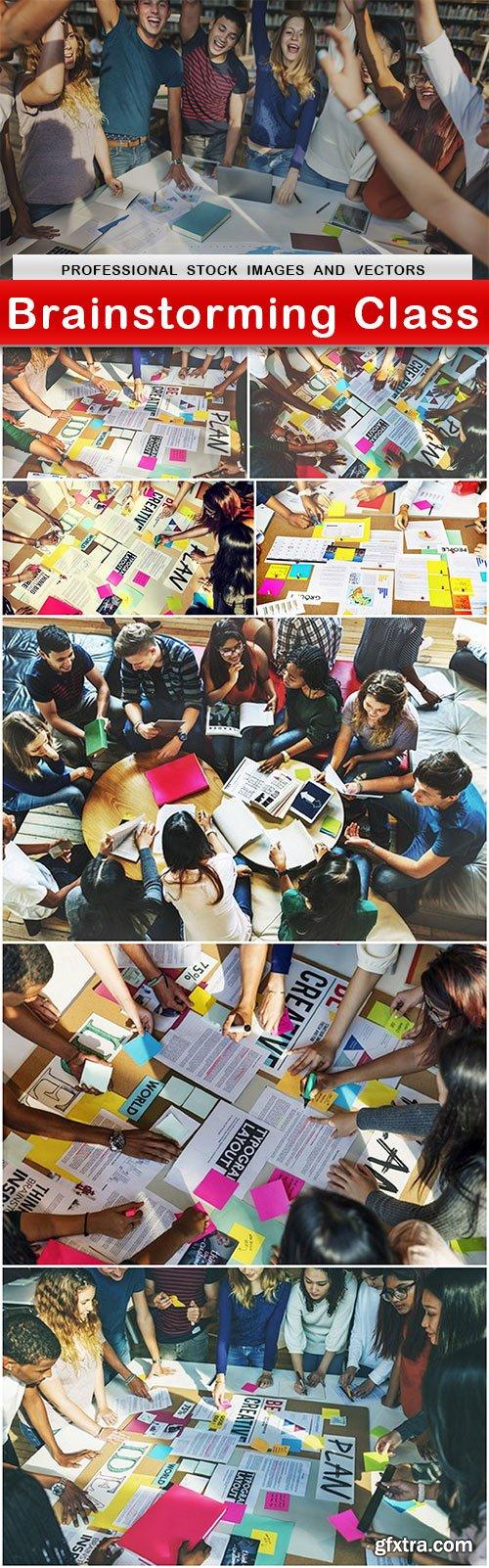 Brainstorming Class - 8 UHQ JPEG