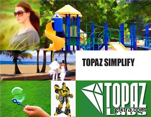 Topaz Simplify 4.1.1 DC 03.06.2016 Plug-in for Photoshop