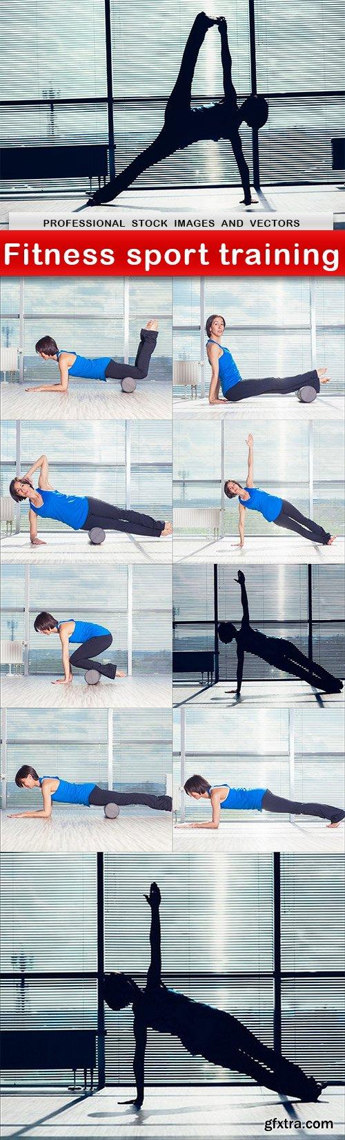 Fitness sport training - 10 UHQ JPEG