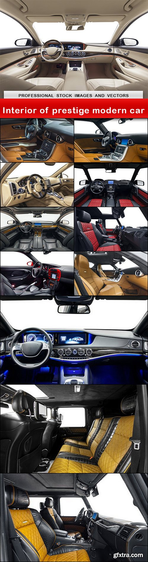 Interior of prestige modern car - 12 UHQ JPEG